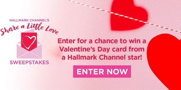 Hallmark Share A Little Love Sweepstakes
