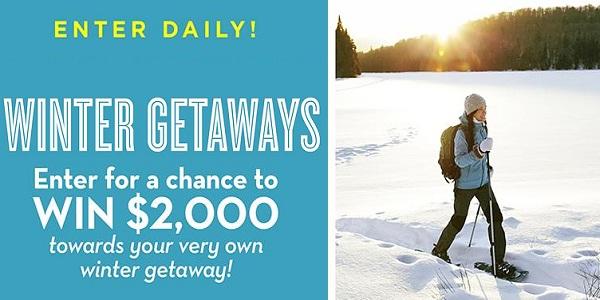 Winter Getaways Sweepstakes