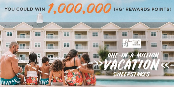 Holiday Inn One in a Million Sweepstakes