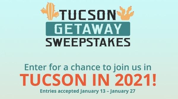 Shoplc Tucson Getaway Sweepstakes
