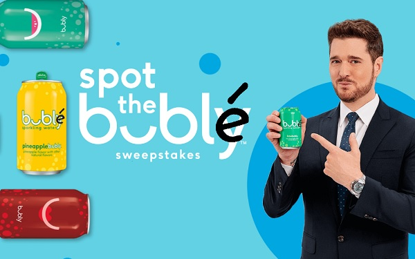 Spot The Bublé Sweepstakes