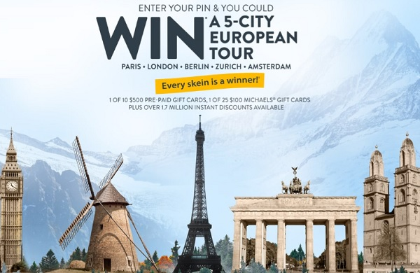 bernat instant win game sweepstakes