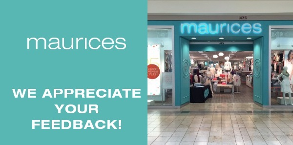 Tell Maurices Feedback in Customer Satisfaction Survey
