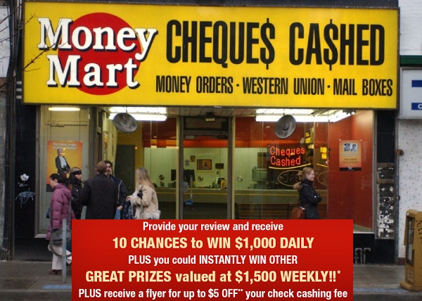 Money Mart Customer Experience Survey