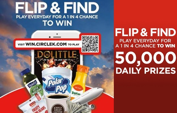 Circle K Flip and Find Sweepstakes