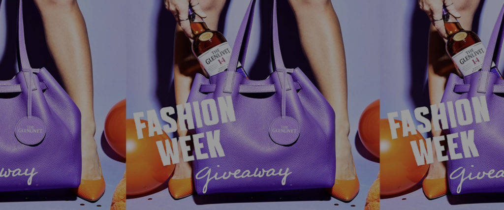 The Glenlivet X NYFW Sweepstakes