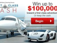 First Class Cash Sweepstakes, PCH.com Sweepstakes, spectrum.pch.com, Win $100000 Cash,