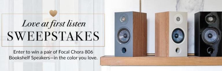 World Wide Stereo Bookshelf Loudspeakers Sweepstakes