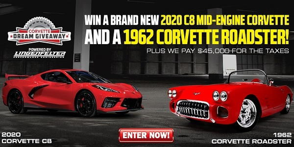 2020 Corvette Dream Giveaway