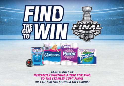 Kruger Find The Cup & Win Contest
