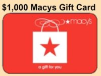 Macy Gift Card Giveaway