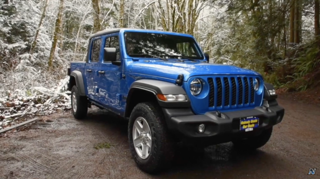 Gladiator Jeep Giveaway