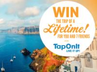 TapOnIt Mediterranean Greece Getaway Sweepstakes