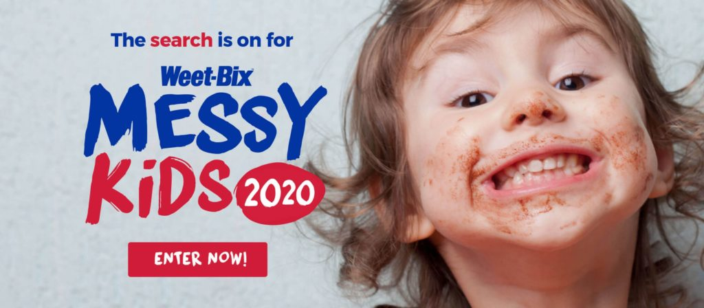Weet-Bix Messy Kids Competition 2020
