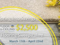 Spring Into Savings Sweepstakes