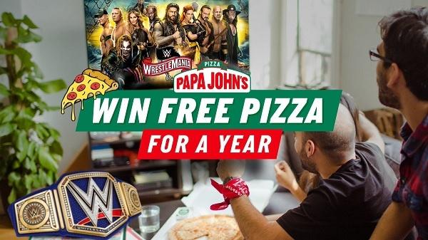 Papa John's WrestleMania Sweepstakes