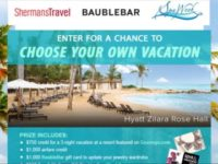 The Shermans Travel Sweepstakes