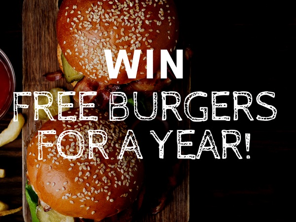 Win Free Burgers for a Year