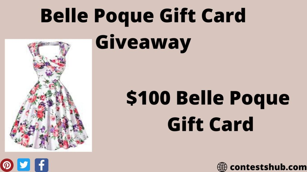 Belle Poque Gift Card Giveaway