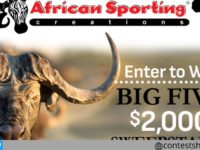 African sporting Creations Big Five Sweepstakes
