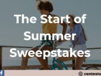 Bean Box The Start Of Summer Sweepstakes