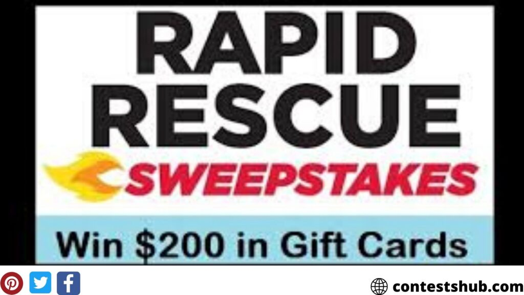 Firehouse Subs Rapid Rescue Sweepstakes