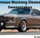 Omaze Mustang Eleanor Sweepstakes