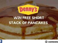 Denny's Free Pancake Coupon Survey 2020