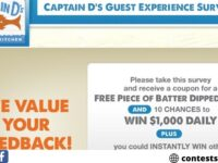 Captain D's Customer Experience Survey