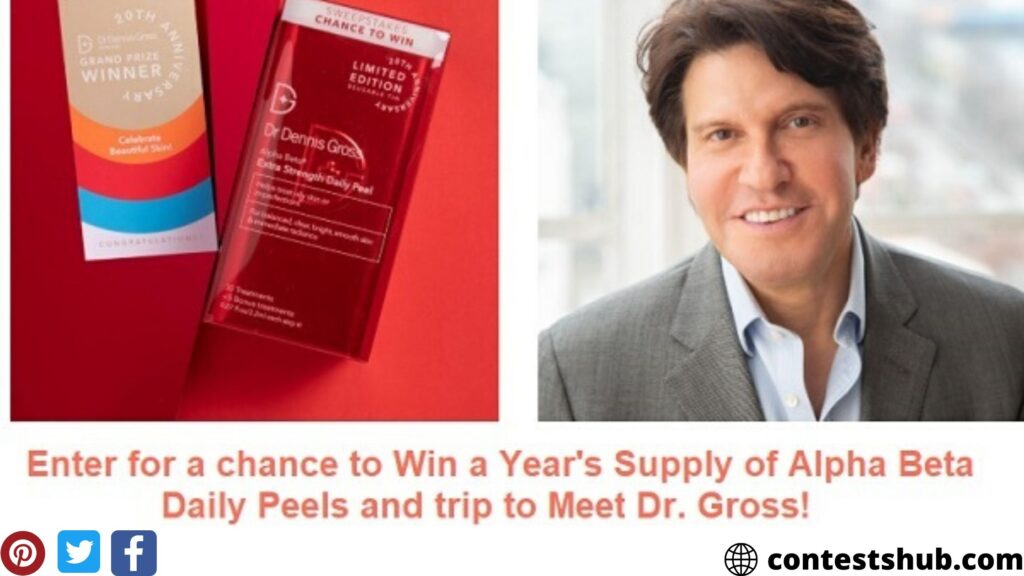 Dr. Dennis Gross 20th Anniversary Sweepstakes
