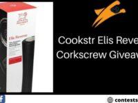 Cookstr Elis Reverse Corkscrew Giveaway