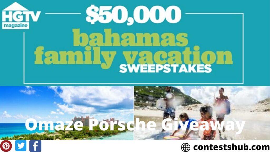 Hgtv Magazine Bahamas Family Vacation Sweepstakes