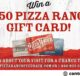 Pizza Ranch Feedback Survey Sweepstakes