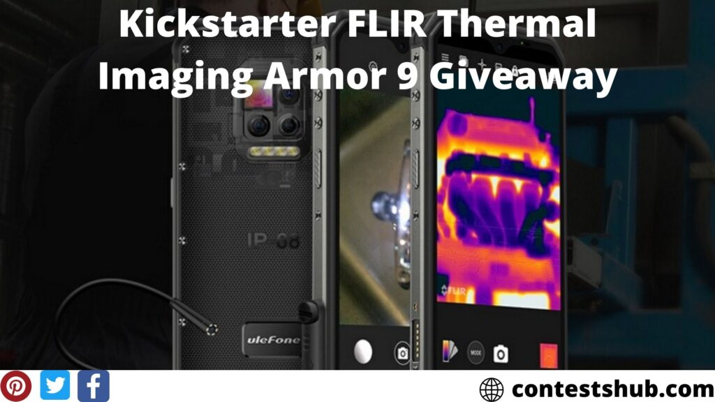 Kickstarter FLIR Thermal Imaging Armor 9 Giveaway