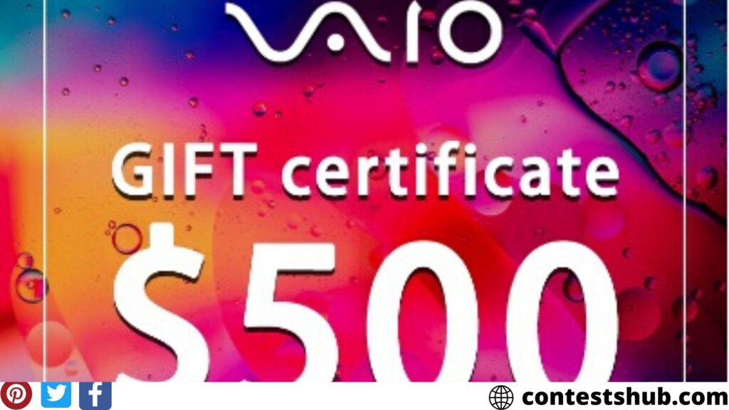 Transcosmos America Ultimate VAIO Accessory Kit Sweepstakes