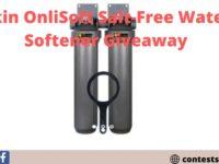 Rkin OnliSoft Salt-Free Water Softener Giveaway