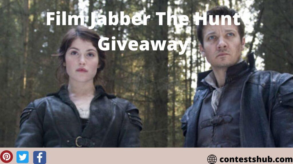 Film Jabber The Hunt Giveaway
