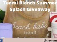 Teami Blends Summer Splash Giveaway