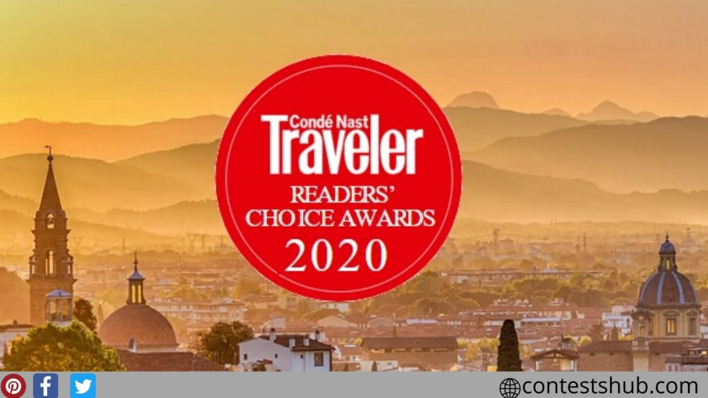 Conde Nast Readers' Choice Awards Survey Sweepstakes