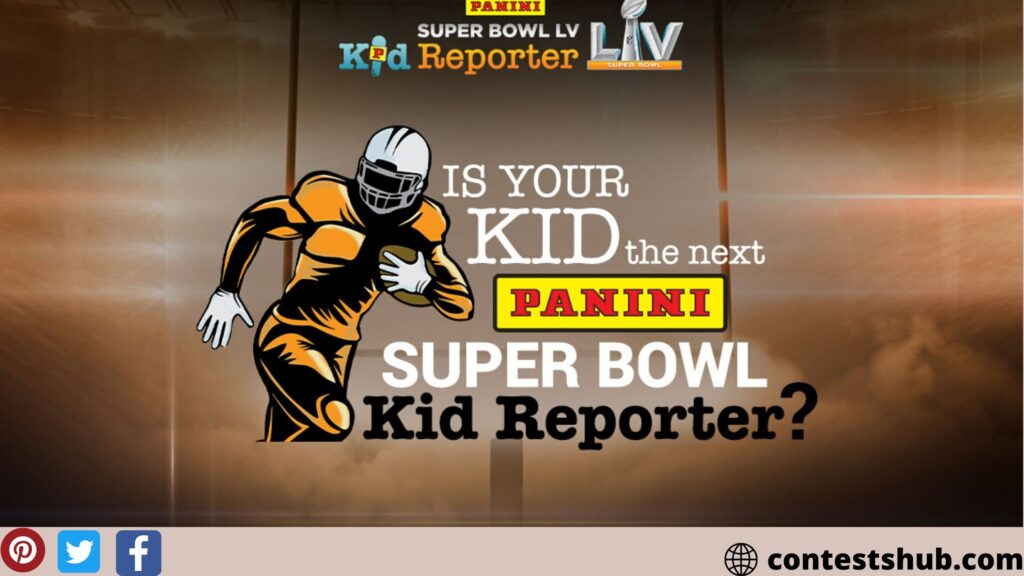 Panini Kid Reporter Contest