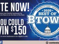 Gannett HoosierTimes 2020 Best Of Btown Sweepstakes
