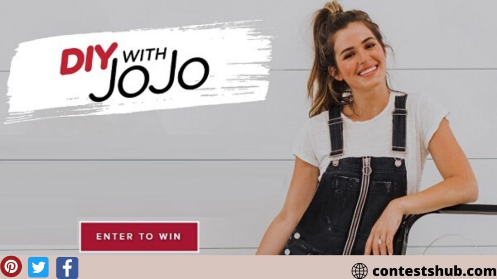 Kilz DIY With Jojo Sweepstakes on Kilzdiywithjojo.com