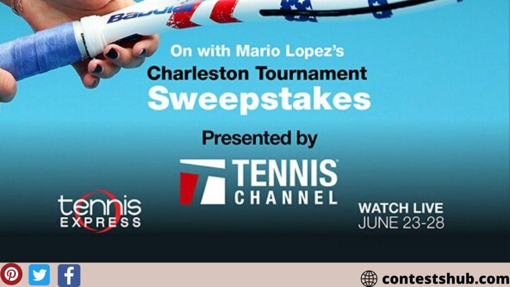 On with Mario Lopez's Charleston Tournament Sweepstakes