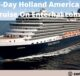 Win 7-Day Holland America Line Cruise On Enterhal.com!