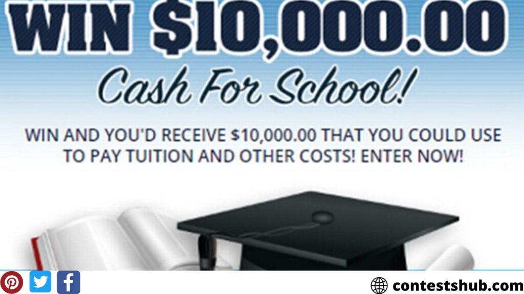 PCH.com $10000 Cash for School Giveaway