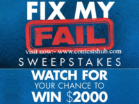Hgtv.com Fix My Fail Sweepstakes