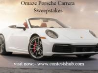 Omaze Porsche Carrera Sweepstakes,