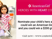 American Girl Heroes with Heart Contest