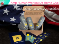 Amp Human Workout At Home Giveaway