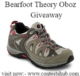 Bearfoot Theory Oboz Giveaway